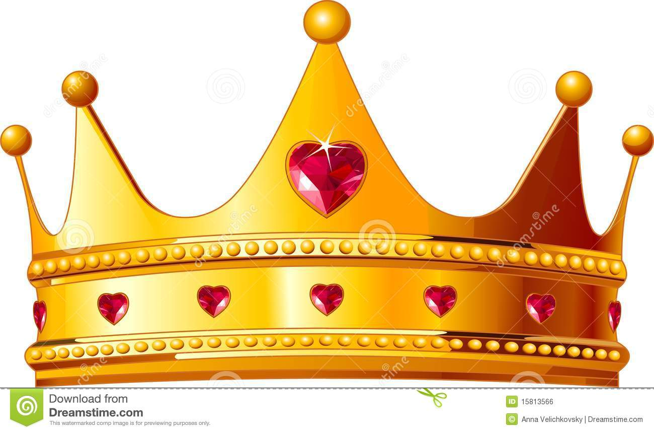 Gold king crown clip art clip art royalty free Kings Crown Royalty Free Stock Image - Image: 15813566 clip art royalty free