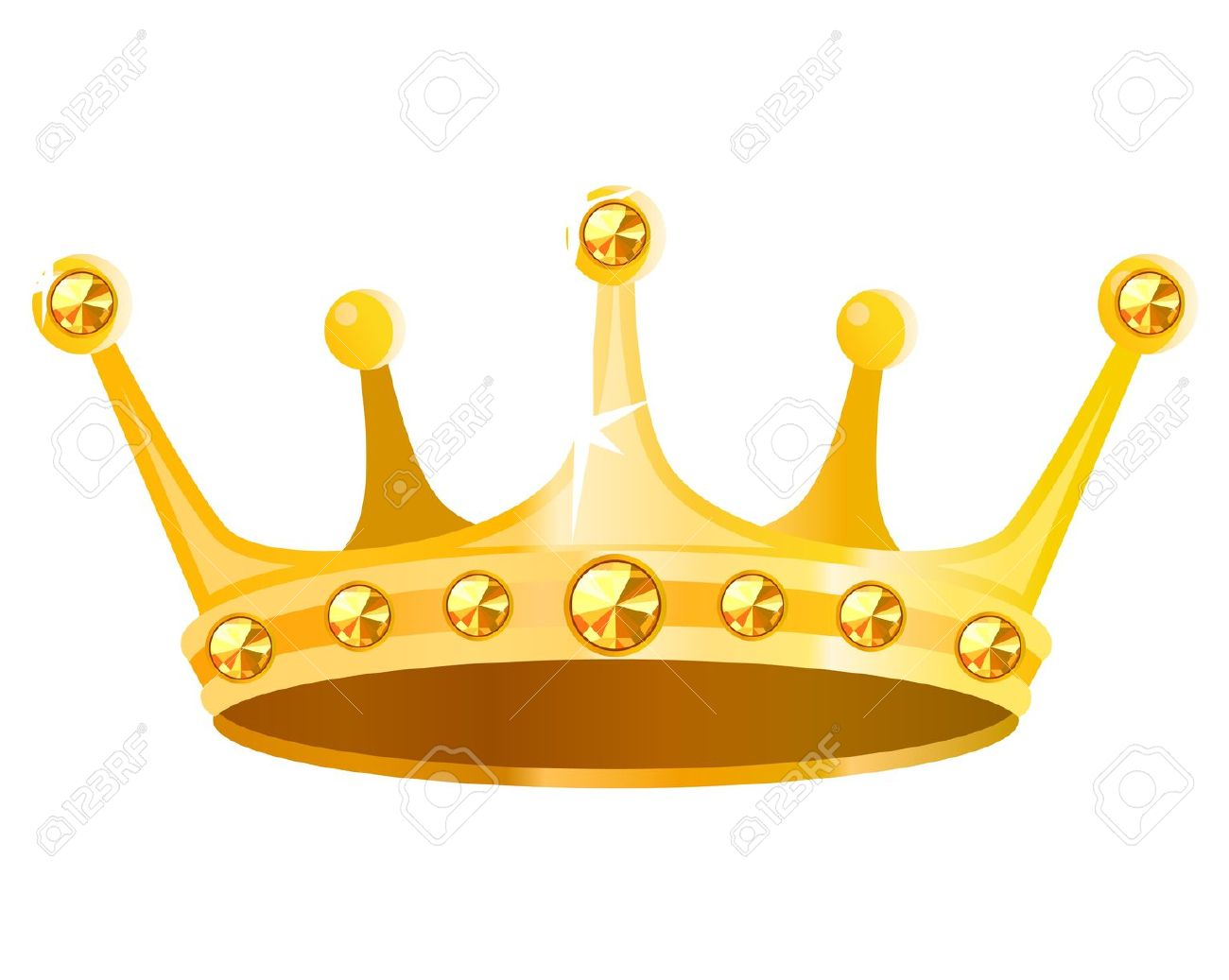Gold king crown clip art image download Gold crown king clipart - ClipartFest image download