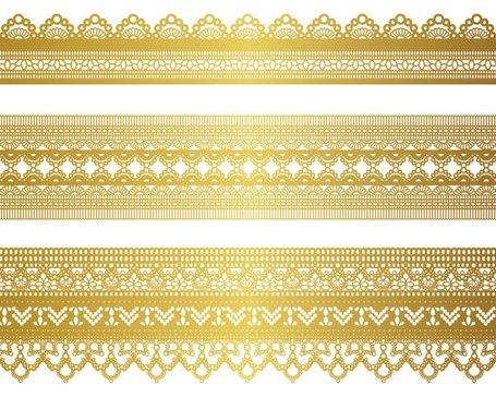 Gold lace pattern clipart picture transparent stock Free Gold lace pattern 04 Clipart and Vector Graphics - Clipart.me picture transparent stock