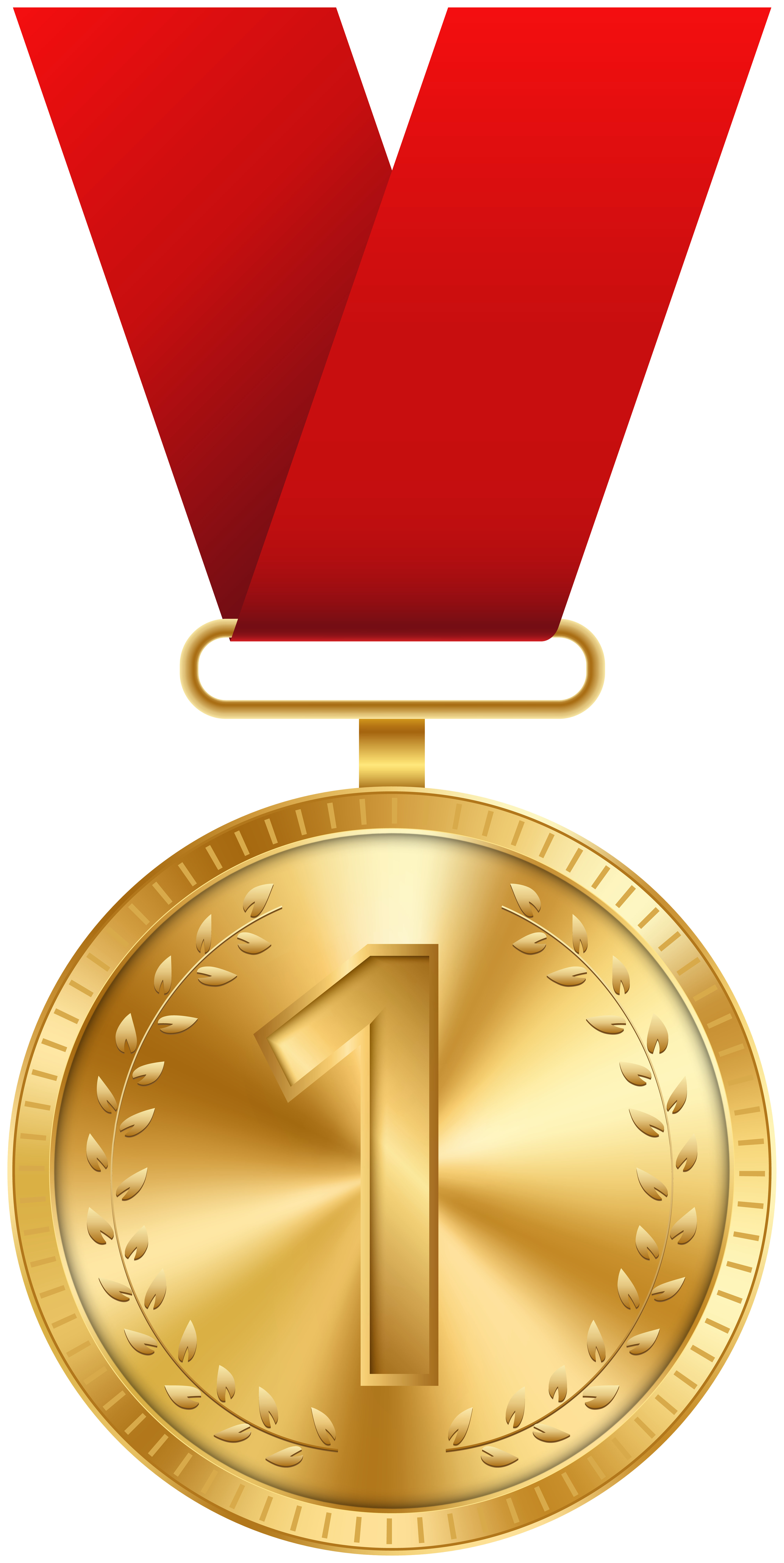 Gold medal clipart