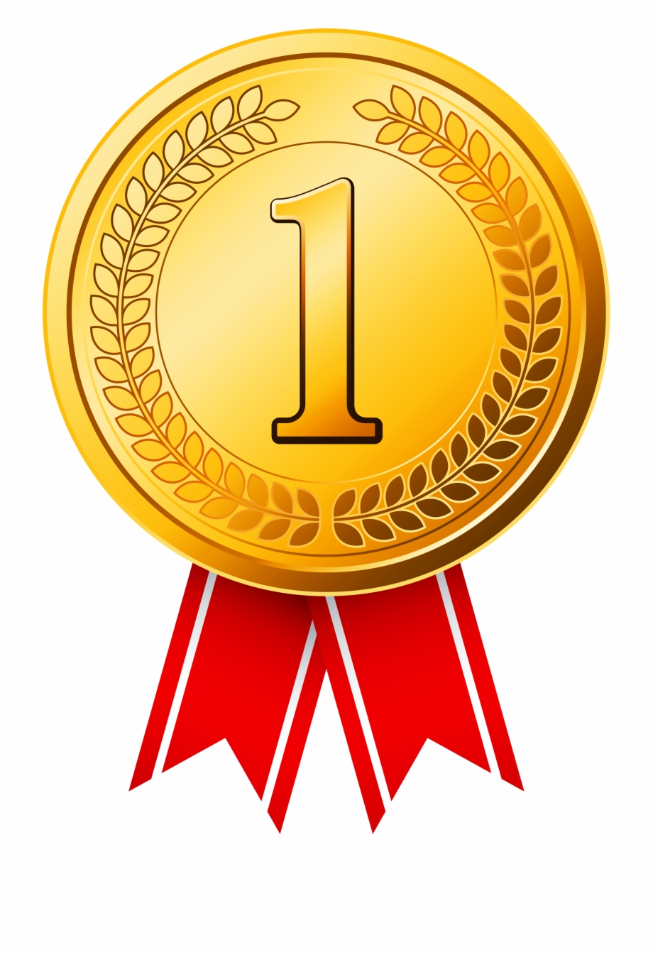 Golden Olympic Gold Cup Award Medal Clipart - Gold Medal Free PNG ... picture transparent download