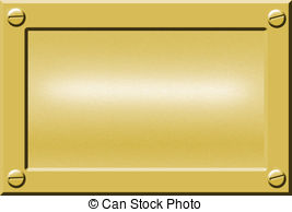 Gold name plate clipart clip transparent Metal nameplate Illustrations and Clipart. 2,454 Metal nameplate ... clip transparent