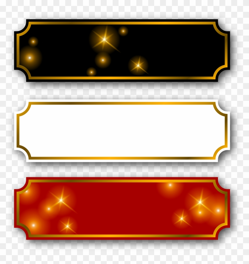Gold name plate clipart clip download Label Png Images - Vector Gold Name Plate Png, Transparent Png ... clip download