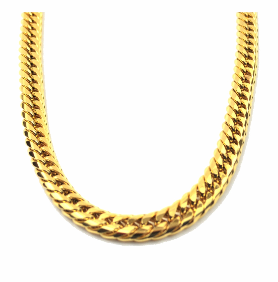 Gold necklace clipart clip art royalty free stock Jewellery Chain Png Clipart - Gold Gods Cuban Link Chain ... clip art royalty free stock
