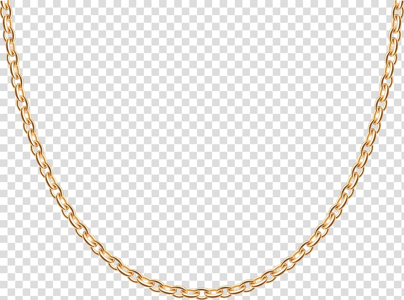 Gold necklace clipart clip freeuse Gold-colored necklace, Earring Necklace Gold Jewellery Chain, Gold ... clip freeuse