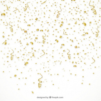 Gold party clipart png confetti whtie background image black and white download Confetti Vectors, Photos and PSD files   Free Download image black and white download