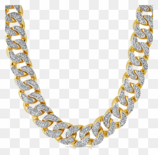 Gold pendant clipart clip royalty free library Necklace Clipart Rapper - Gold Diamond Necklace Men - Png Download ... clip royalty free library