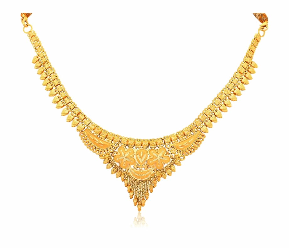 Gold pendant clipart jpg download Gold Necklace Png - 10 Gram Gold Necklace Free PNG Images & Clipart ... jpg download