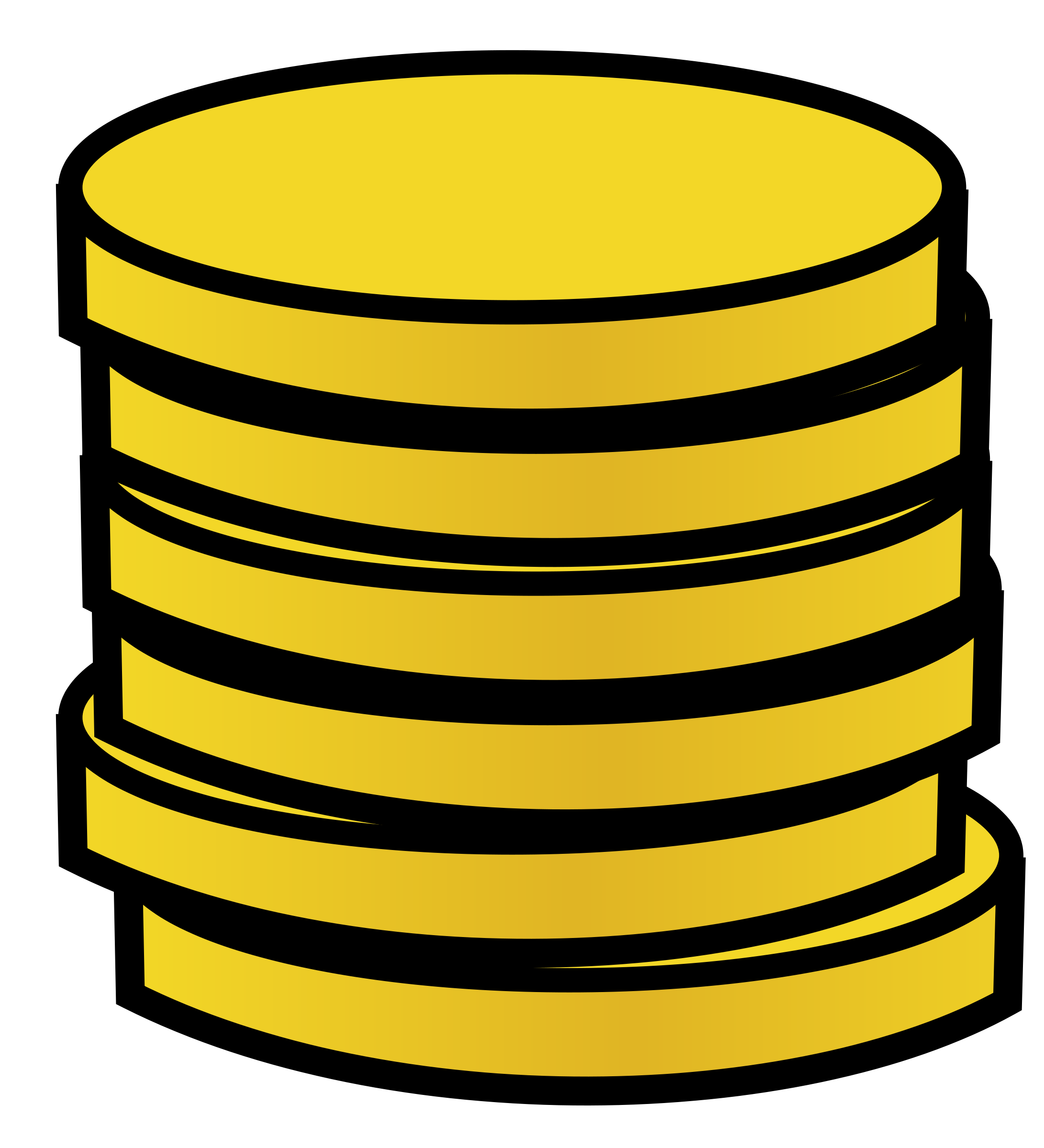 Coin image clipart clip library stock Gold coin Clipart | Clipart Panda - Free Clipart Images clip library stock