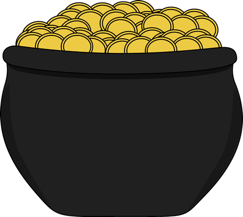 Gold pot clipart clip art library library 94+ Pot Of Gold Clipart | ClipartLook clip art library library