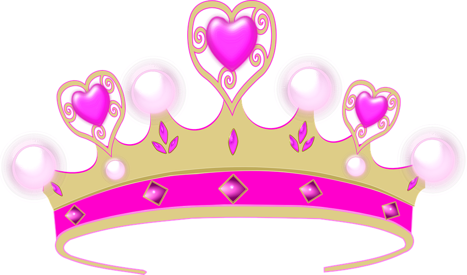 Prom queen crown clipart silver svg black and white Princess Tiara Pictures Group (80+) svg black and white