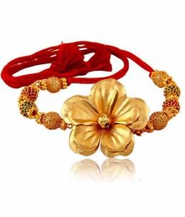 Gold rakhi clipart jpg freeuse Download gold rakhi hd clipart Raksha Bandhan Gold India jpg freeuse