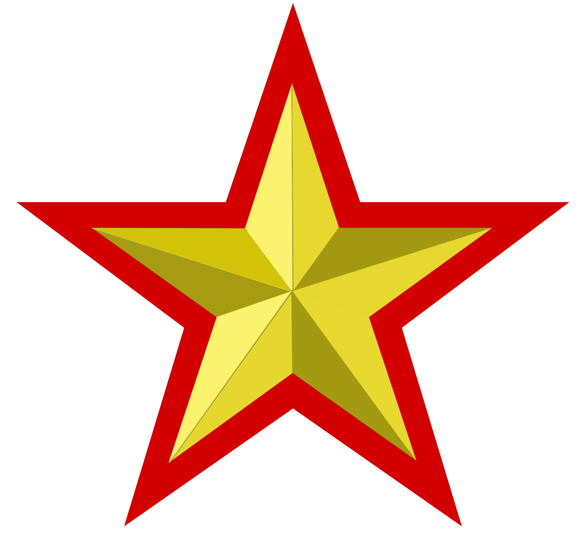 Star divider clipart svg free Red Gold Stars Clipart svg free