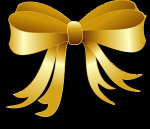 Gold ribbon border clipart vector freeuse stock Gold Ribbon Clip Art at Clker.com - vector clip art online, royalty ... vector freeuse stock