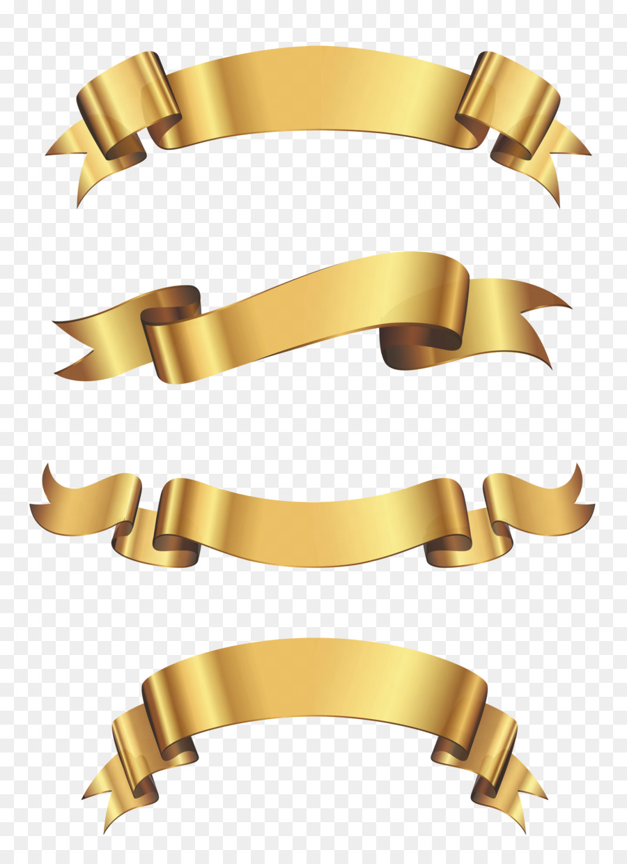 Gold ribbon border clipart clip library Gold Ribbon Ribbon png download - 3218*4411 - Free Transparent ... clip library