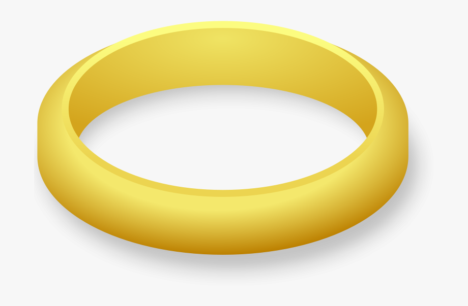 Plain Wedding Ring - Gold Ring Clipart #61479 - Free Cliparts on ... banner black and white
