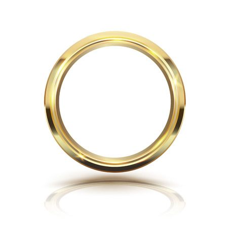 Gold ring clipart 2 » Clipart Station clip art black and white