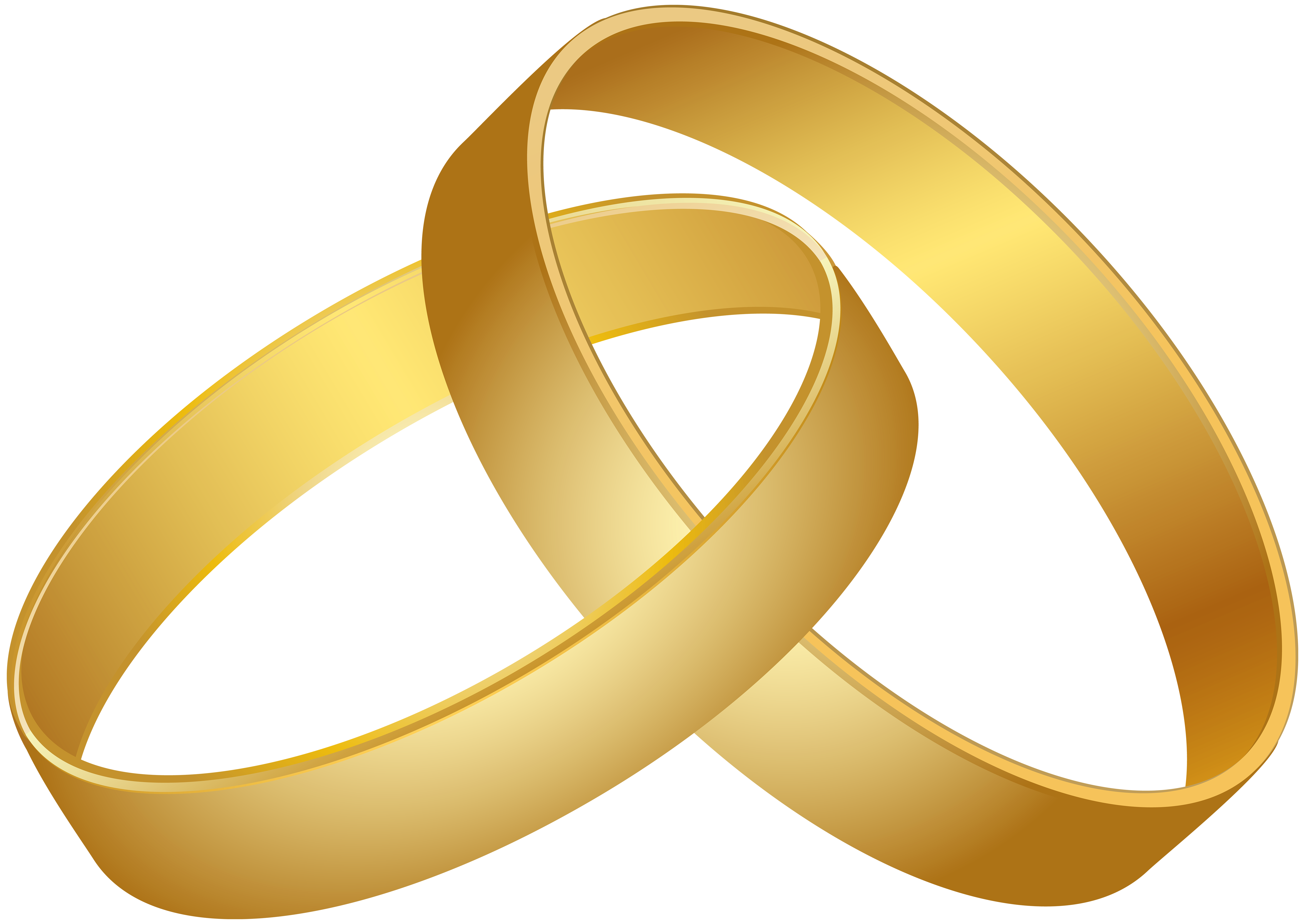 Wedding Rings Gold PNG Clip Art - Best WEB Clipart jpg library stock