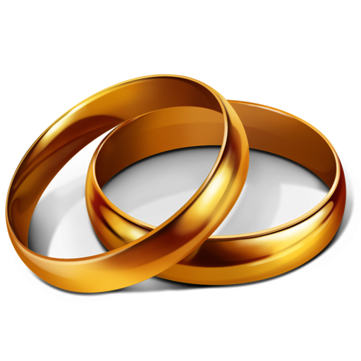 Gold rings clipart vector royalty free download Gold Rings Icon, PNG ClipArt Image | IconBug.com vector royalty free download