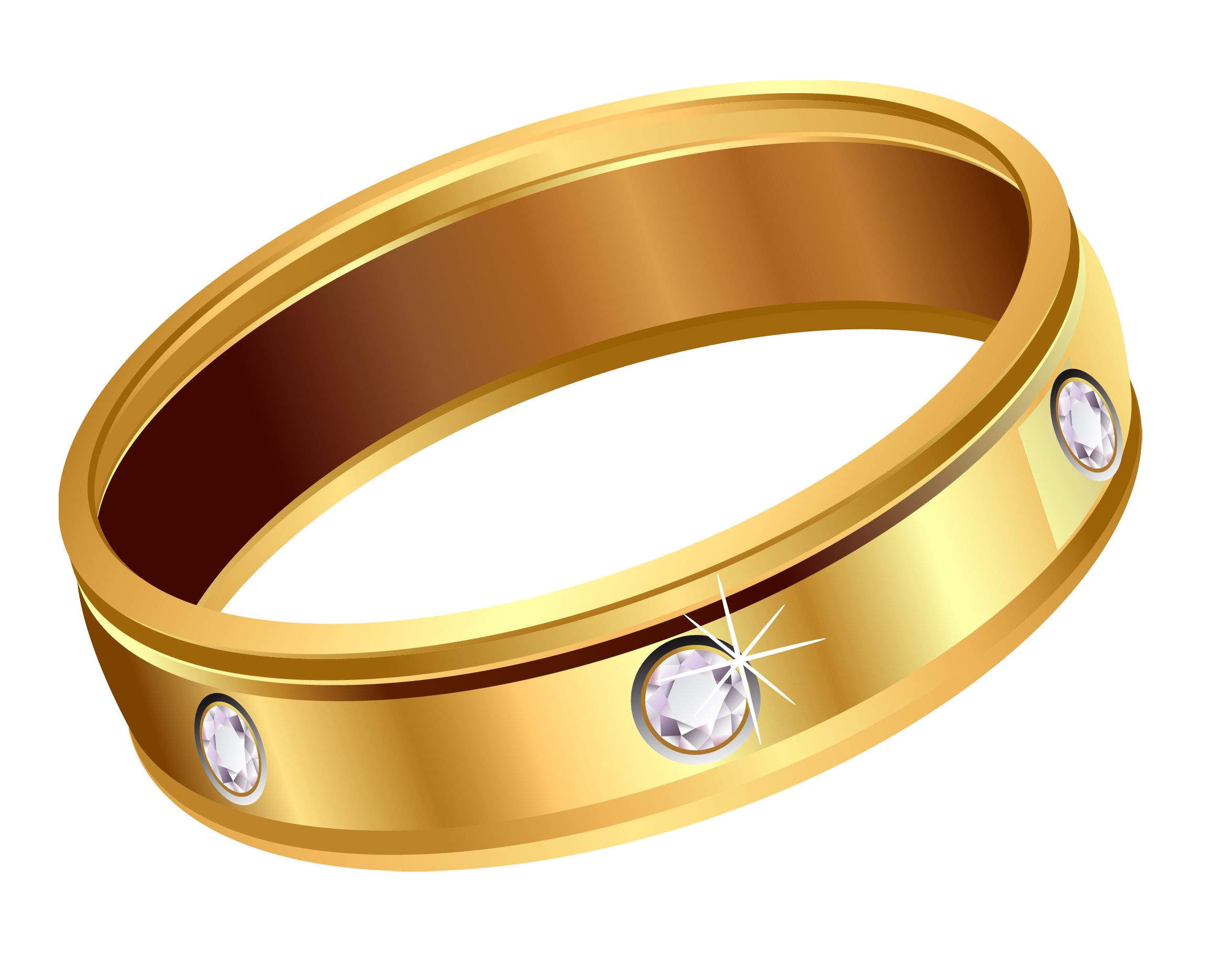 Gold rings clipart clip art transparent stock Transparent Gold Ring with Diamonds PNG Clipart | Gallery ... clip art transparent stock
