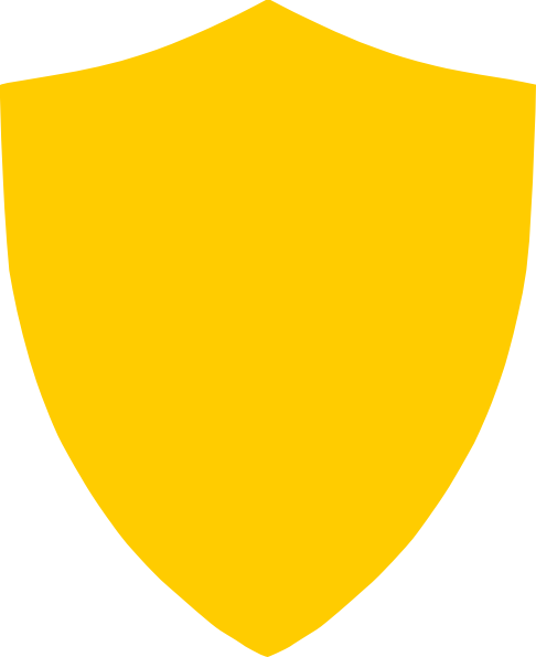 Gold shield clipart png transparent Gold Shield Clip Art at Clker.com - vector clip art online, royalty ... png transparent
