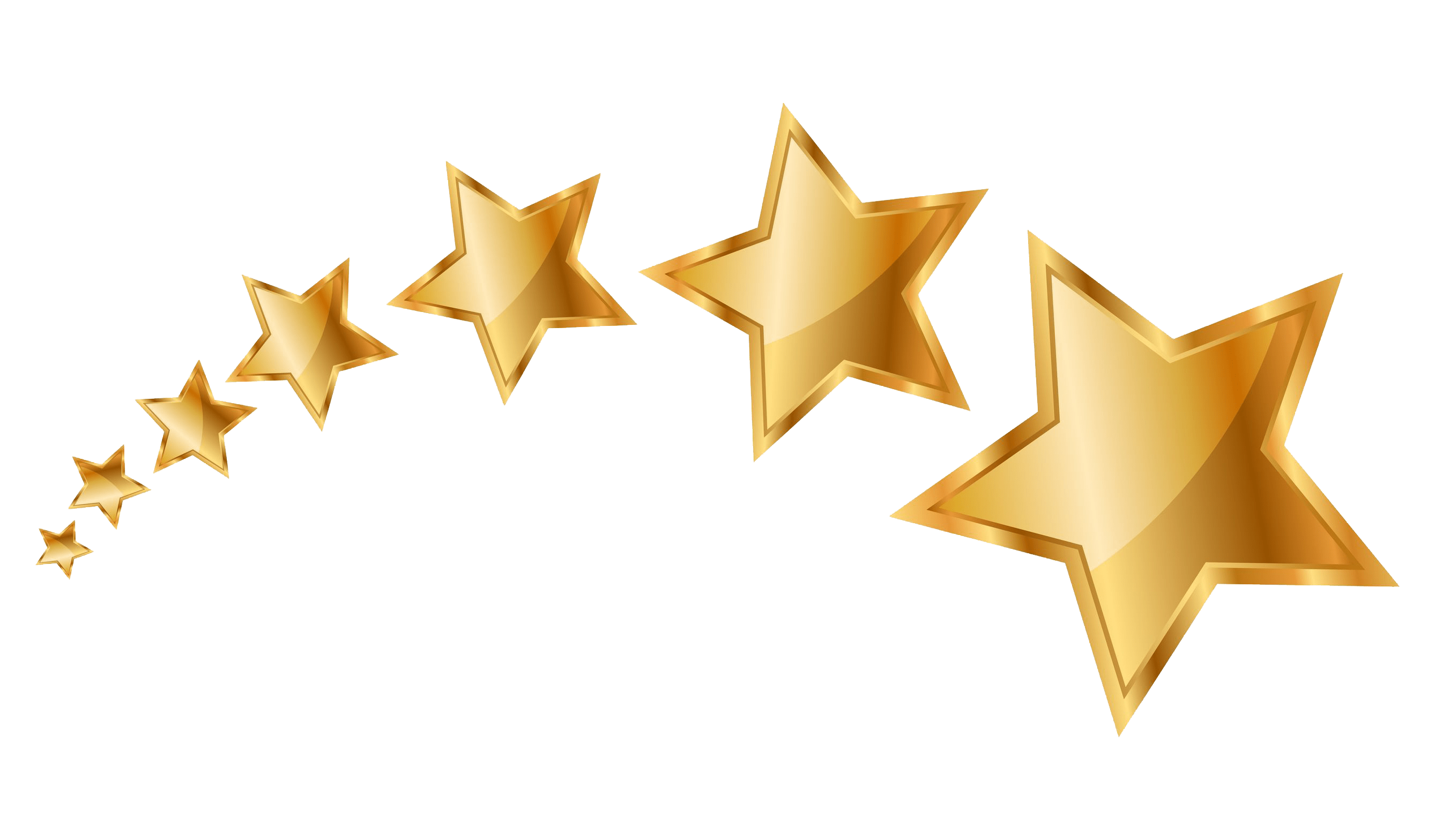 Gold star clipart png picture transparent stock 5:5 Sparkling Gold Stars Rating transparent PNG - StickPNG picture transparent stock