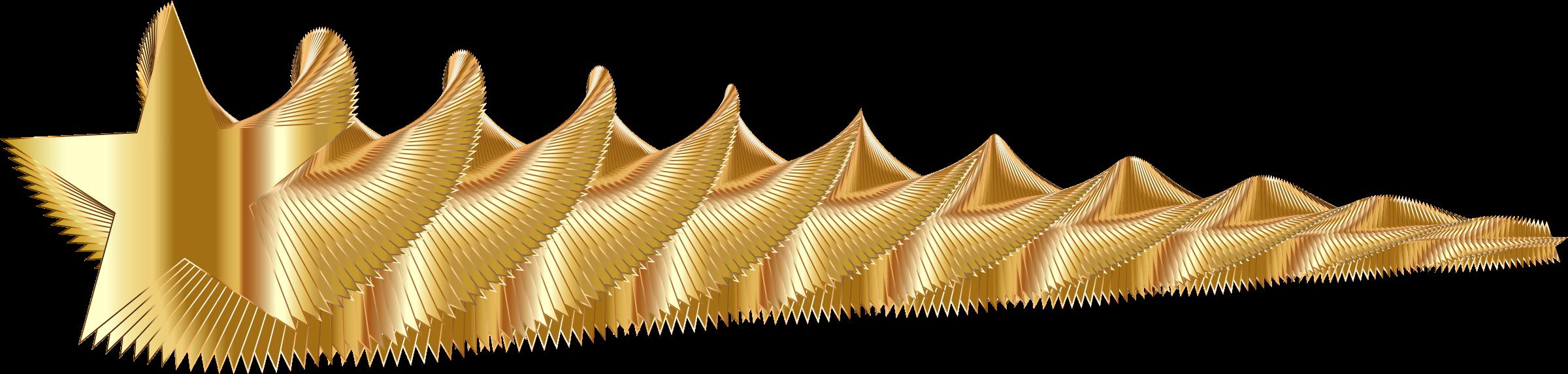 Gold shooting star clipart jpg transparent download Clipart - Golden Shooting Star jpg transparent download