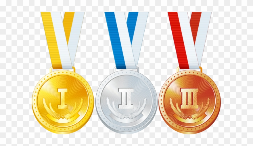 Gold silver bronze medals clipart image black and white stock Graphic Black And White Download Bronze Gold Silver - Gold Medal ... image black and white stock