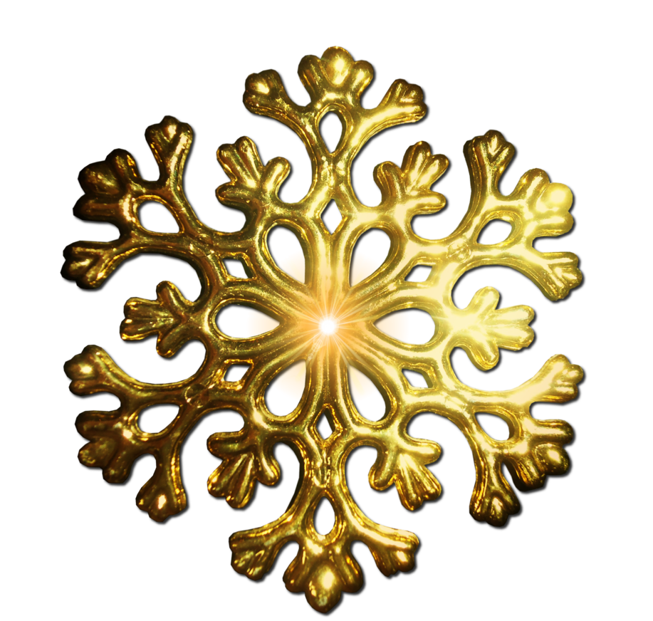 Gold snowflake clipart images svg Pre-Cut Gold Snowflake PNG by JSSanDA | PNG | Pinterest | Gold svg