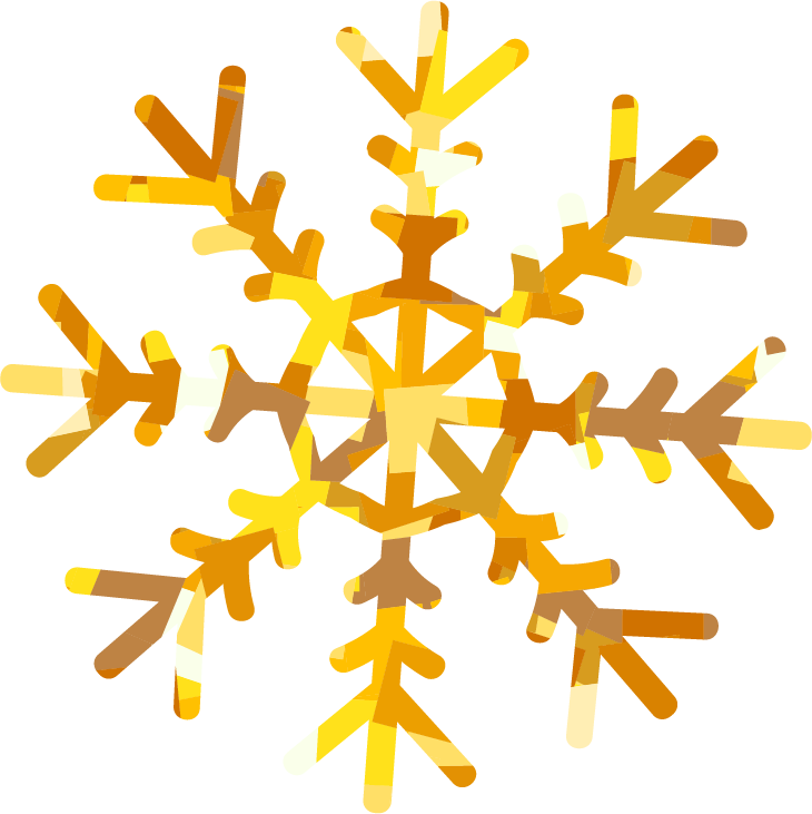 Gold snowflake clipart images svg library download Holiday Card simple wLLP svg library download