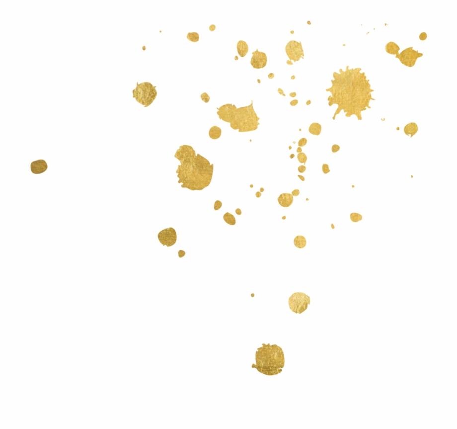 Gold splatter clipart jpg free download Wedding Pinatas - Gold Paint Splatter Png Free PNG Images & Clipart ... jpg free download