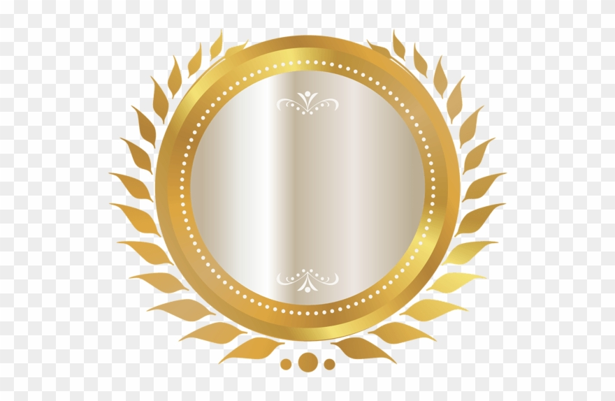 Gold Seal With White Ribbon Png Clipart Image - Certificate Stamp ... library