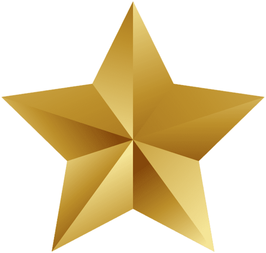 Library of gold star balloons transparent background clip ...
