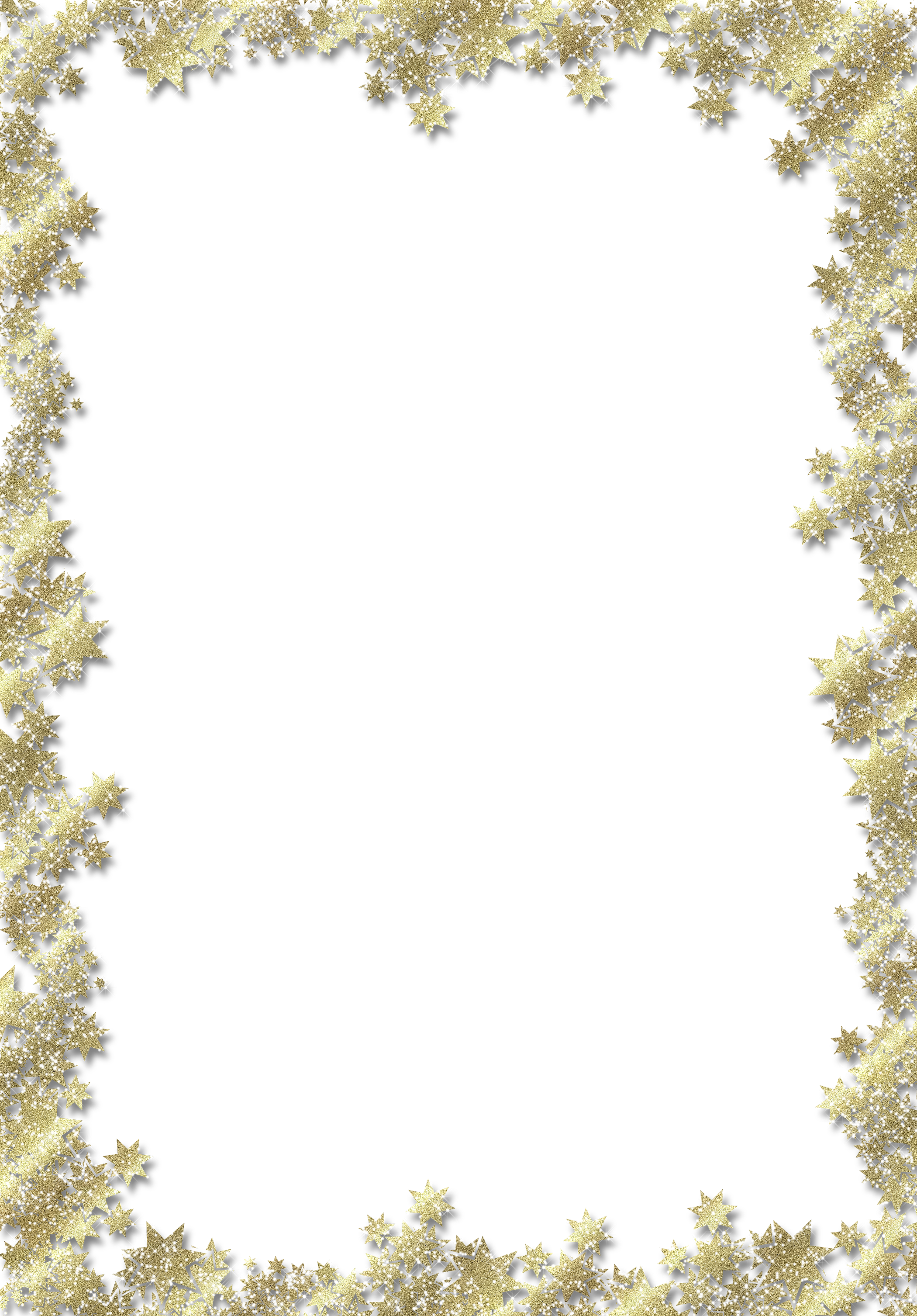 Gold star border clipart transparent download Transparent PNG Frame with Gold Stars | Gallery Yopriceville - High ... transparent download