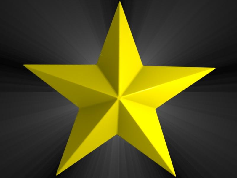 Gold star clipart jpg Gold star golden star clipart - Clipartix jpg