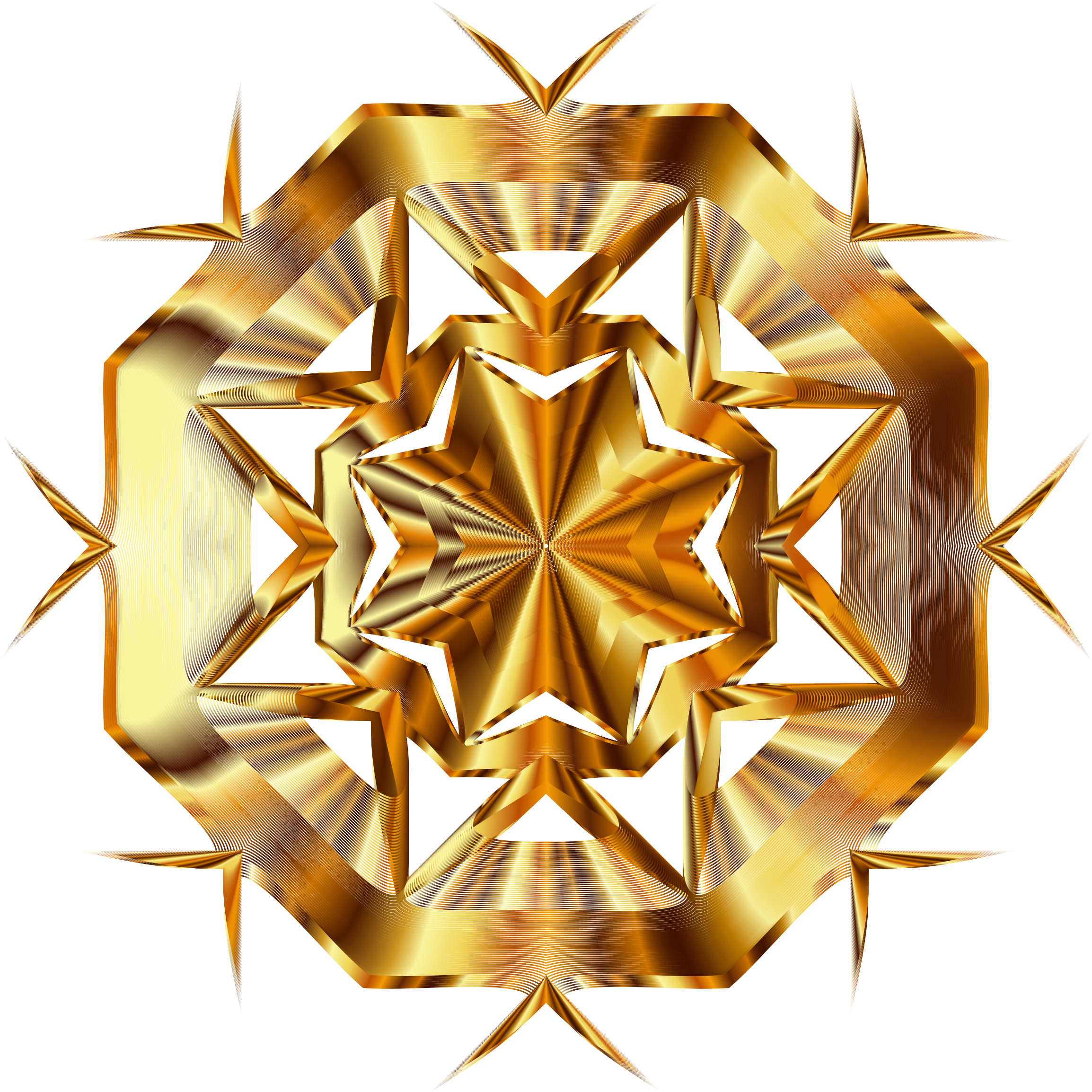 Gold star line clipart clipart stock Clipart - Prismatic Star Line Art 5 No Background clipart stock