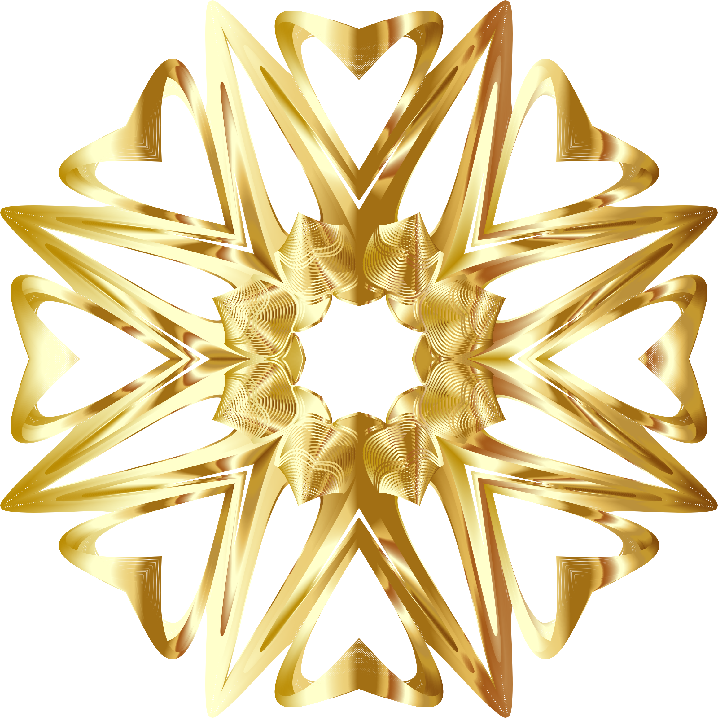 Gold star line clipart png freeuse stock Clipart - Prismatic Star Line Art 6 Variation 3 No Background png freeuse stock