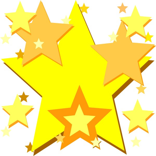 Gold star spray clipart graphic download Cluster Of Stars Clipart | Free download best Cluster Of Stars ... graphic download