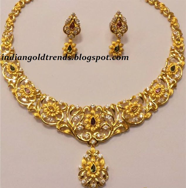 Gold thushi designs with price clipart png freeuse library Latest Indian Gold and Diamond Jewellery Designs: Unique Traditional ... png freeuse library