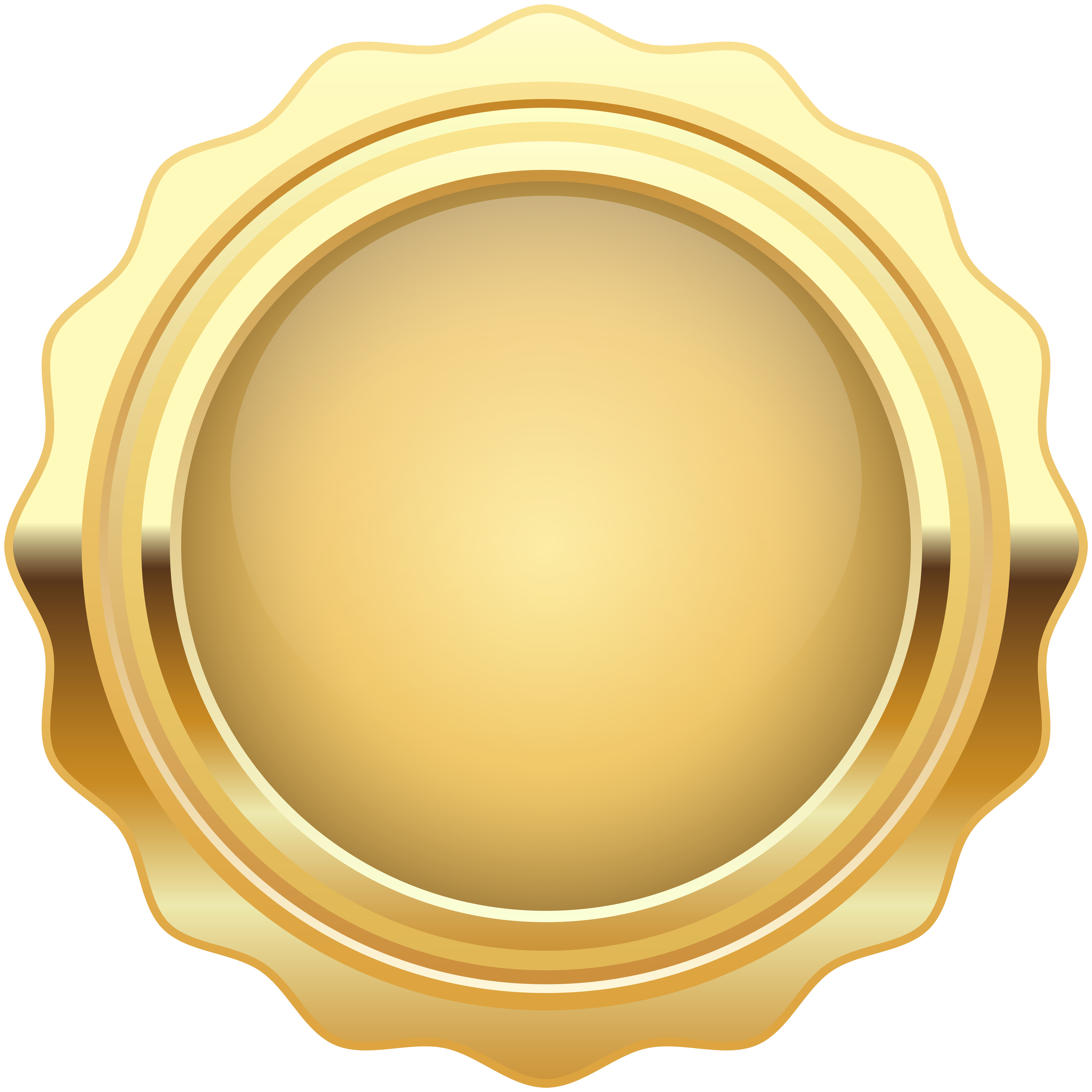 Gold wax seal clipart banner royalty free download Gold Wax Seal free clipart | Clipart Finders banner royalty free download