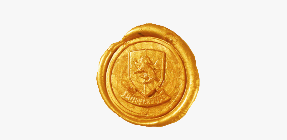 Gold wax seal clipart clip transparent download wax #seal #hufflepuff #hogwarts #freetoedit - Gold Wax Seal Png ... clip transparent download