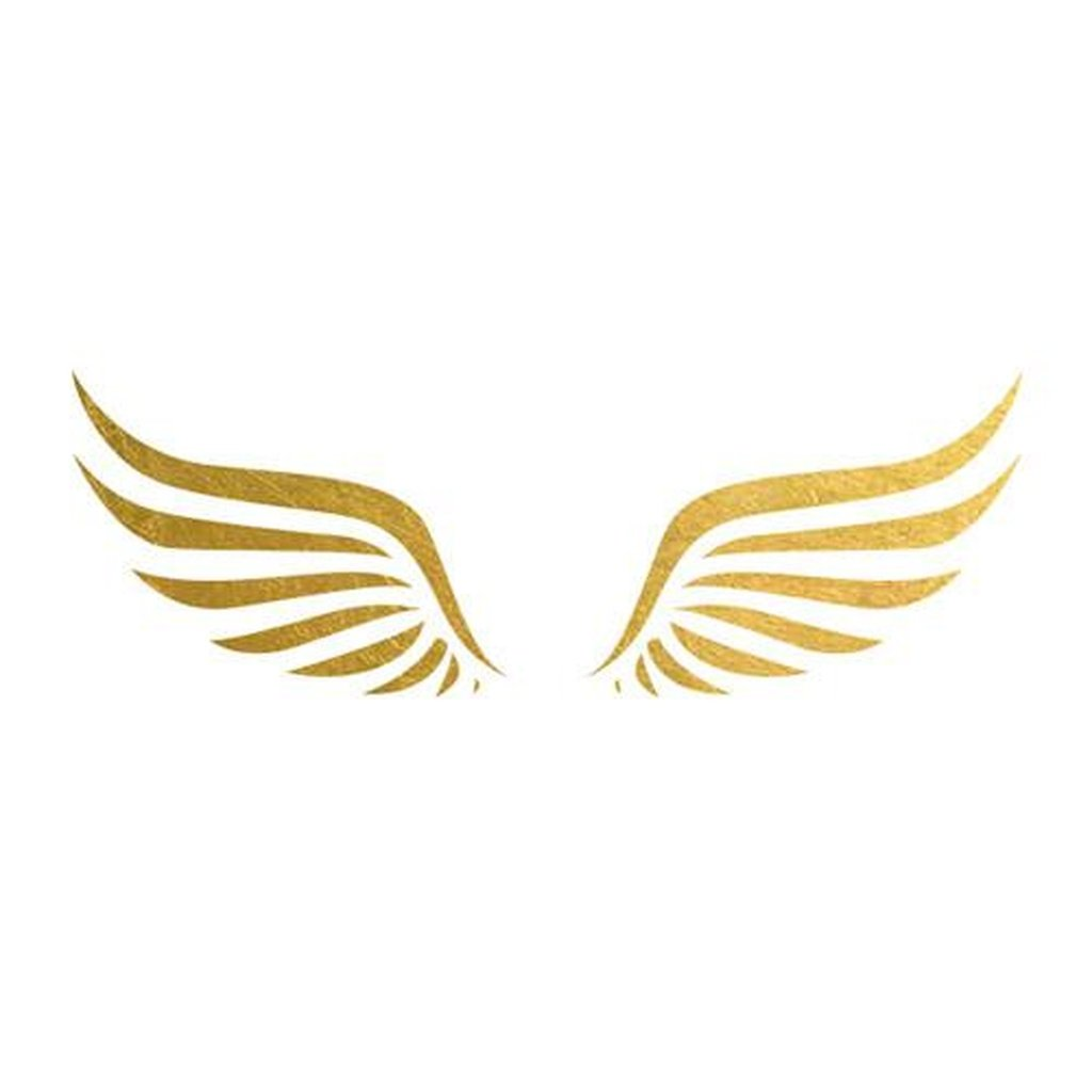 Gold wings clipart image transparent library This is a 3\