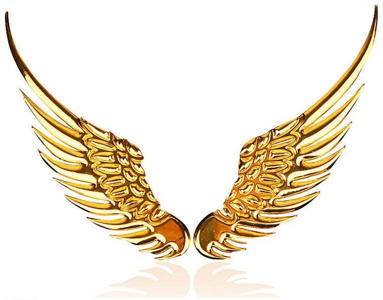 Gold wings clipart image stock Free Gold Angel Wings Png, Download Free Clip Art, Free Clip Art on ... image stock