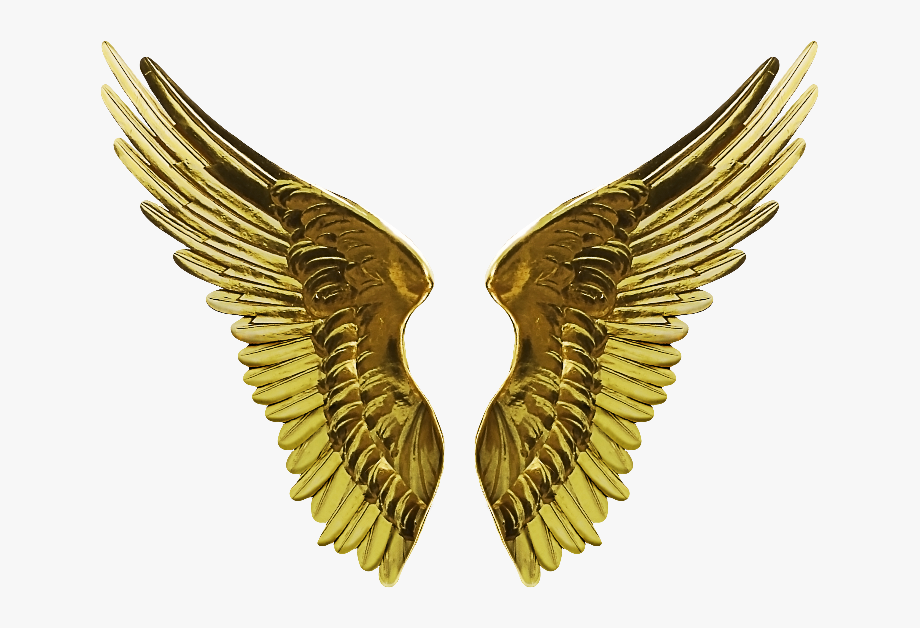 Gold wings clipart jpg free stock Download Png - Gold Angel Wings Png #42344 - Free Cliparts on ... jpg free stock