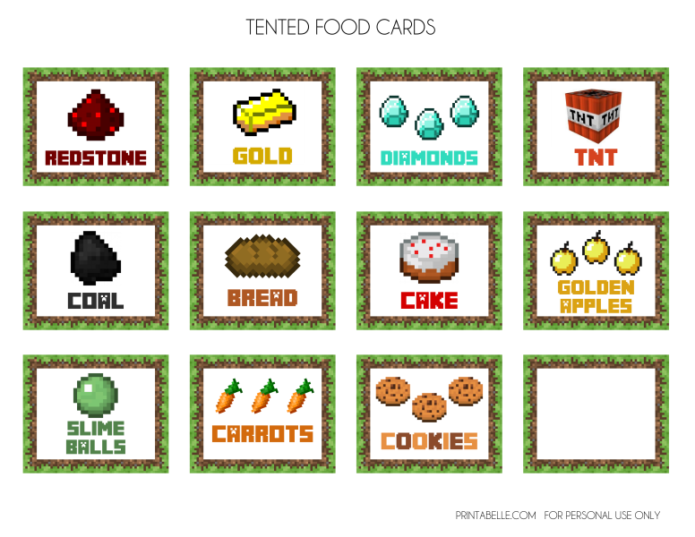 Golden apple minecraft clipart png royalty free download FREE Minecraft Printables   Pinterest   Minecraft images, Bingo ... png royalty free download