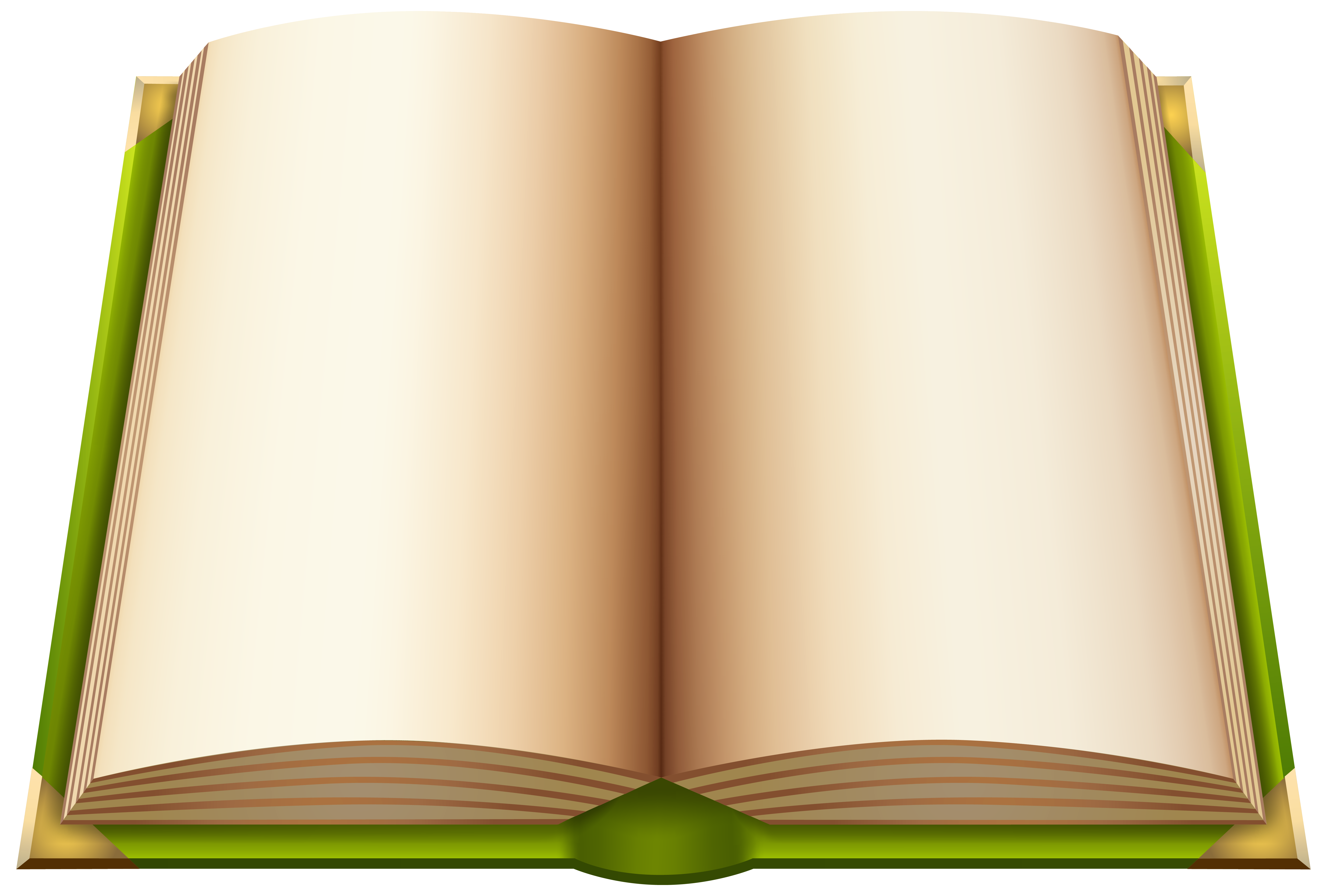 Open your book clipart graphic royalty free download Green Open Book PNG Clipart - Best WEB Clipart graphic royalty free download