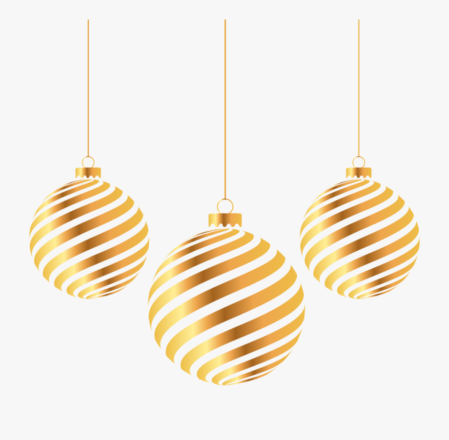 Golden christmas ball clipart png download Golden Ball Christmas Gold Year Hd Image Free Png - New Year Balls ... png download