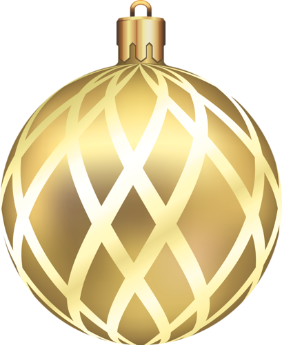 Golden christmas ball clipart picture free download Gallery - Christmas PNG picture free download