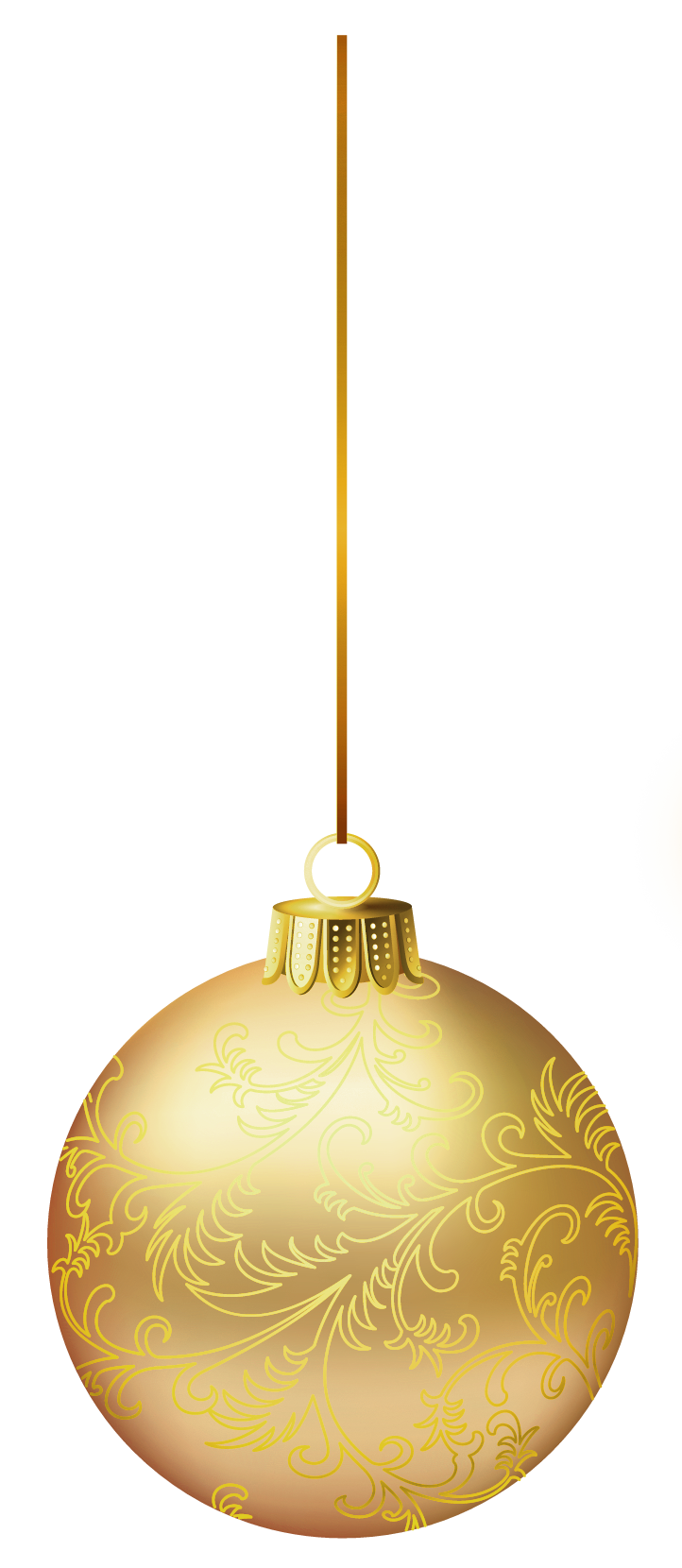 Golden christmas ball clipart banner royalty free Gold Christmas Ball PNG Picture | Gallery Yopriceville - High ... banner royalty free