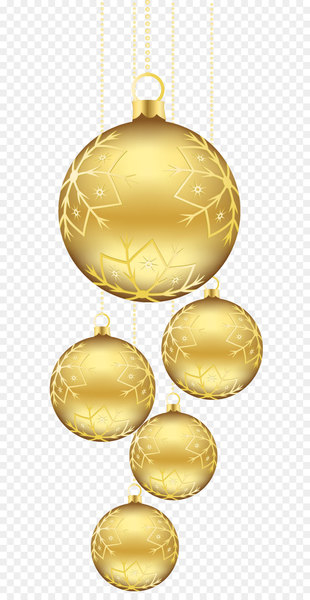 Golden christmas ball clipart svg transparent stock Christmas ornament Gold Clip art - Christmas Golden Balls Ornaments ... svg transparent stock
